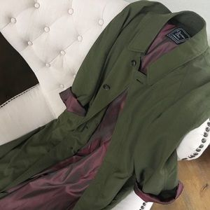 Christian Dior raincoat